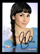 Sila Sahin Autogrammkarte GZSZ Original Signiert + 68989