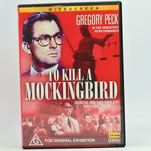 To Kill A Mockingbird Gregory Peck DVD Good Condition Free Tracked Post
