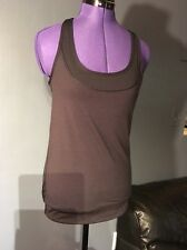 Lululemon Tank Top Build in Bra Black Size 4