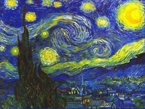 VINCENT VAN GOGH ~ 20 x 30 ~  STARRY NIGHT POSTER