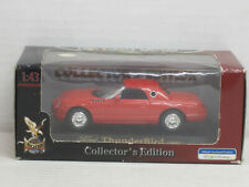 Ford Thunderbird Cabrio mit Hardtop (2000) in rot, OVP, Road Signature, 1:43