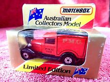MATCHBOX  LIMITED EDITION 1981  MB 38  FORD MODEL A  [PMG 282] UNOPENED