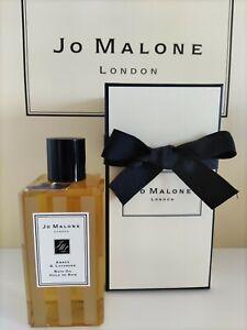 Jo Malone Amber & Lavender Bath Oil 250ml + Body Hand Wash 250ml