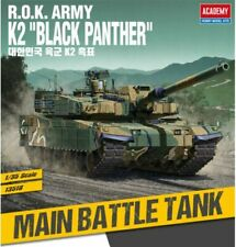 Academy 1/35 R.o.k Army K2 Black Panther Tank Toy Kit Military Hobby Model 13518