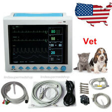 Contec Veterinary Patient Monitor Vital Signs 6 Parameter Cms8000vet Usa Newest