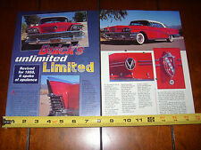 1958 BUICK LIMITED CONVERTIBLE  - ORIGINAL ARTICLE