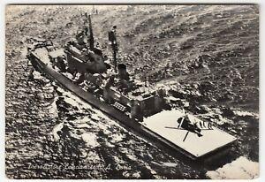 Shipping; Italian Helicopter Cruiser Andrea Doria RP PPC, Unused