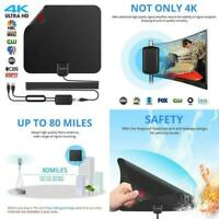 2018 Newest Best 80 Miles Long Range TV Antenna Freeview Local Channels Indoor B