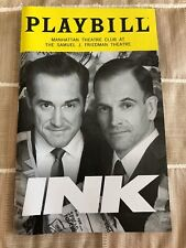 Ink May 2019 Broadway Playbill