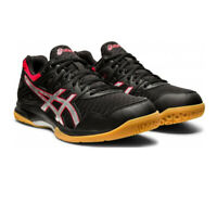 Asics Mens Gel-Task 2 Indoor Court Shoes Black Sports Squash Badminton Handball