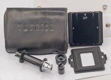 Rare - Yashica 635 TLR Camera Original 35mm Film Adapter Kit - Complete!