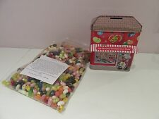 1kg Jelly Belly Beans 30 Assorted Flavours + Money Box Tin