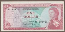 1965 EAST CARIBBEAN STATES 1 DOLLAR NOTE