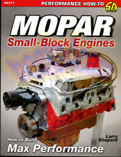 ENGINES MANUAL SMALL BLOCK MOPAR HOW TO BUILD PERFORMANCE MAX V8 SHEPARD