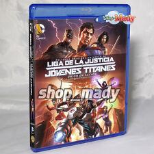 Liga De La Justicia Jovenes Titanes Union en Accion Blu-ray Región A