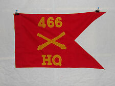 flag 364 WW 2 US Army Airborne  Guide on 466th Field Artillery Battalion HQ