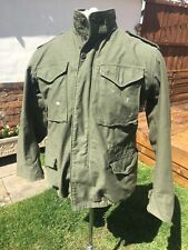 Alpha Industries Field Jacket Military Parka Small Men's 42""