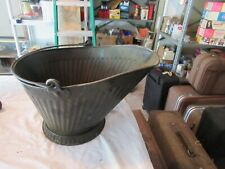 """Coal Bucket / Pail , Old , Vintage , Collectible , 17""""X9""""X9"""""""