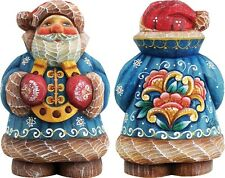 G DeBrekht Best of Luck Gift Expressions Mini Santa With Horseshoe 517611