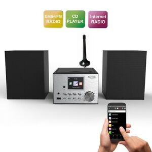 Internetradio Xoro HMT 500 mit WLAN DAB+ CD-Player Bluetooth MP3 UKW WEB Radio