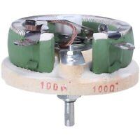 100 Watt 100 Ohm Ceramic Disk Rheostat Variable Resistor E3B8
