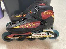 Mens KRYMPTONICS TOUR STINGER 890 Speed Skates Size 11 $249 New