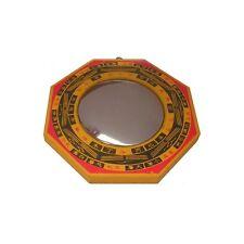 Miroir Feng-Shui – Miroir bois convexe – 185 mm