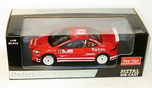 1/18 Peugeot 307 WRC Total  (+ lights) Monte Carlo Rally 2004  F.Loix / S.Smeets