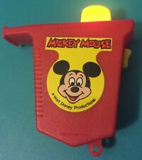 New listing vintage Mickey Mouse whistle flashlight Walt Disney Productions Hong Kong toy