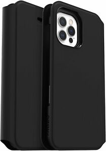 Otter Box for Apple iPhone 12/iPhone 12 Pro, Soft Touch Protective Folio, Strada