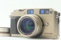 [NEAR MINT] CONTAX G1 Green Label Rangefinder + Planar 45mm F/2 from Japan #J25