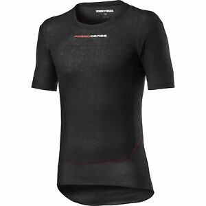 Castelli Prosecco Tech Short Sleeves Bicycle Cycle Bike Base Layer Black