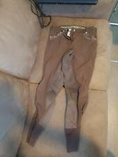 New listing USG Brown Bling Full Seat Breeches 28