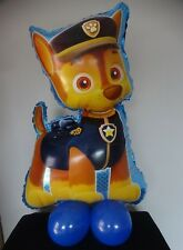 """Paw Patrol CHASE Balloon Air Fill """"NO HELIUM NEEDED"""" Table Display"""