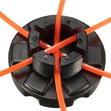 Garten Doppelte Linie Kopf Trimmer Kopf Spule Set für Brushcutter Rasen mit Seil