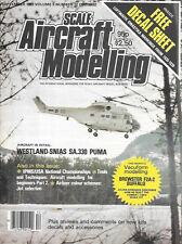 Scale Aircraft Modelling V5 N12 Westland SNIAS SA.330 Puma Luftwaffe F2A Buffalo