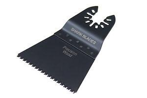 Shark Prescion Coarse Wood 65mm Oscillating Multi Tool Blades For DeWalt, Makita