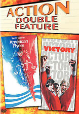 Dvd Action Double Feature American Flyers & Victory New Sealed Free Shipping