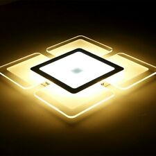 Acrylic LED Ceiling Light Home Lamp Modern Elegant Living Room Bedroom Square