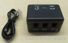 Telephone Headset & Handset Switch - Brand New