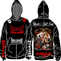 Stryker Fight Gear Hot Motorcycle Girl Vegas Play Now Pay Later MMA UFC Hoodie