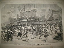 NEW-YORK INCENDIE THEATRE BROOKLYN BAL MASQUé OPERA LE JOURNAL ILLUSTRé 1877