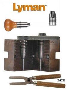 Lyman Single Cavity Hollow Point Mold for 45 Cal 330gr w/ Lee Handles 2650122