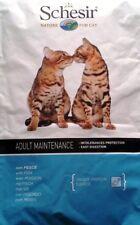 SCHESIR CAT Adulti Pesce Kg 1.5 per Gatti Adulti AGRAS più di 1 anno Croccantini