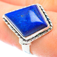 Lapis Lazuli 925 Sterling Silver Ring Size 8.75 Ana Co Jewelry R52581F