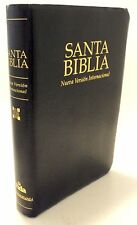Zondervan Vida Spanish Black Leather 1999 NVI Santa Biblia Holy Bible