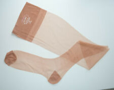 Lot of 3 Pairs Vintage Parkelle Rht Seamless Stockings Nos Size 11 Nos