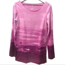 Eco Malibu Organic Sustainable Clothing For Free Minded People Tie Dye Top Sz M