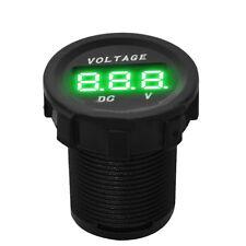 Waterproof 12V Car Motorcycle Green LED Digital Display Volt meter Gauge Sales