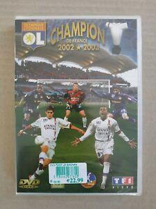DVD football Championnat de France 2002 2003 olympique lyonnais OL neuf rare t3